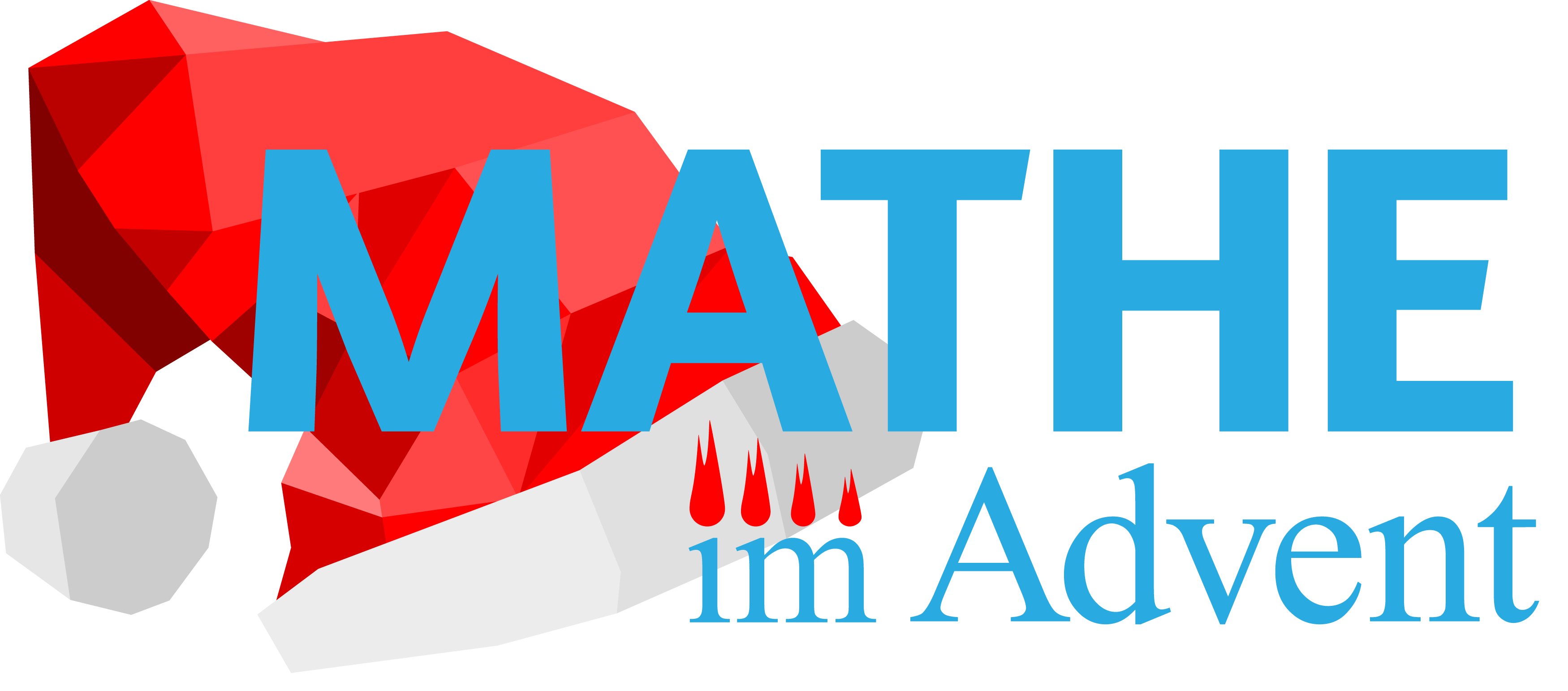 """Mathe im Advent 2020"" Logo"