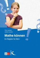 Fachbuch: Mathe können - Ein Ratgeber für Eltern