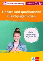 10 Minuten-Training: Lineare und quadratische Gleichungen lösen