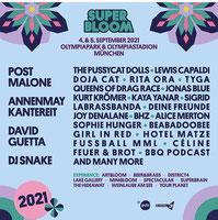 Familienticket SUPERBLOOM Musik & Arts Festival München