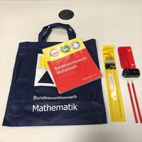 Mathe-Set im Beutel: Buch und Materialien